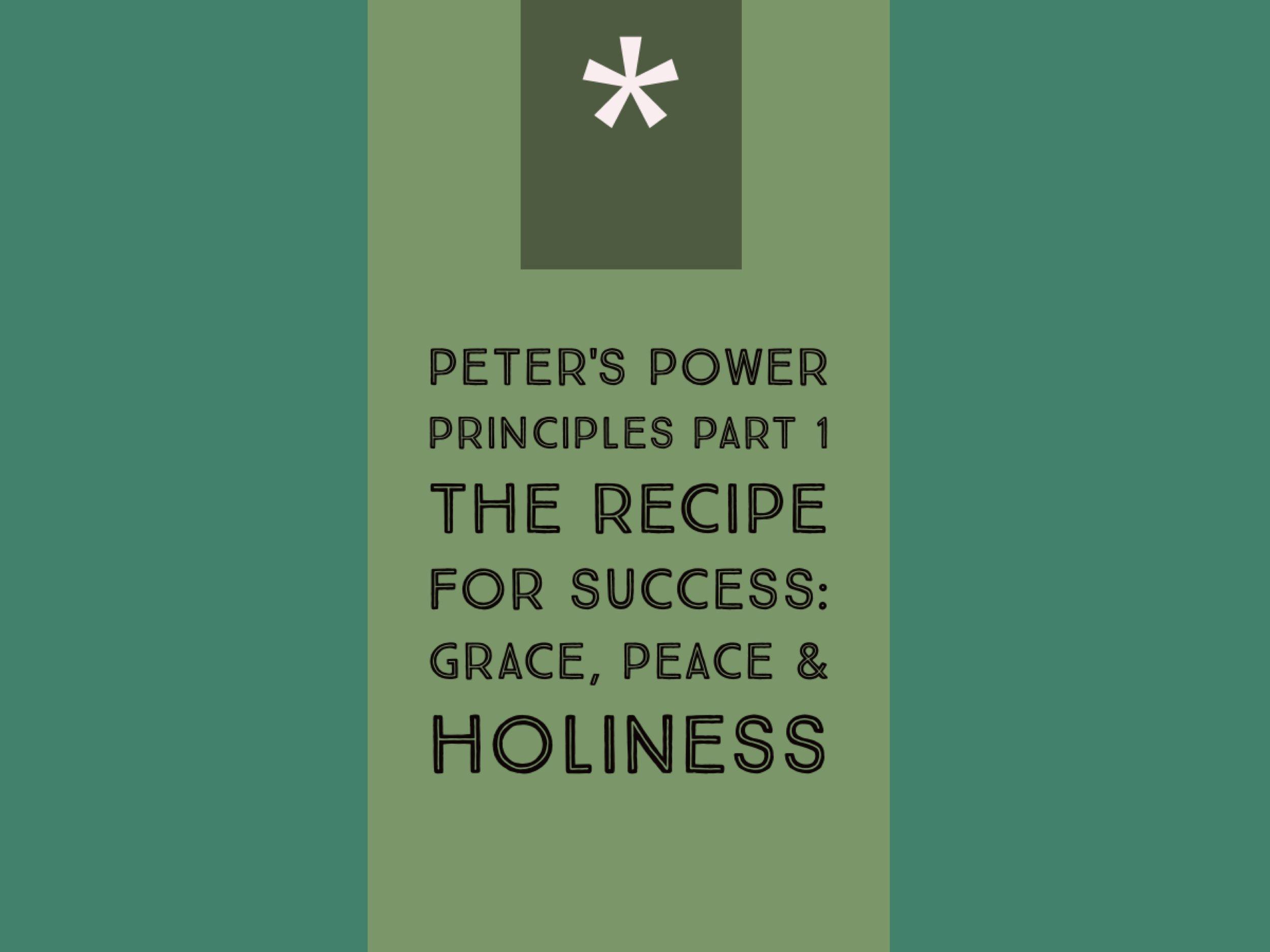 Peter's Power Principles