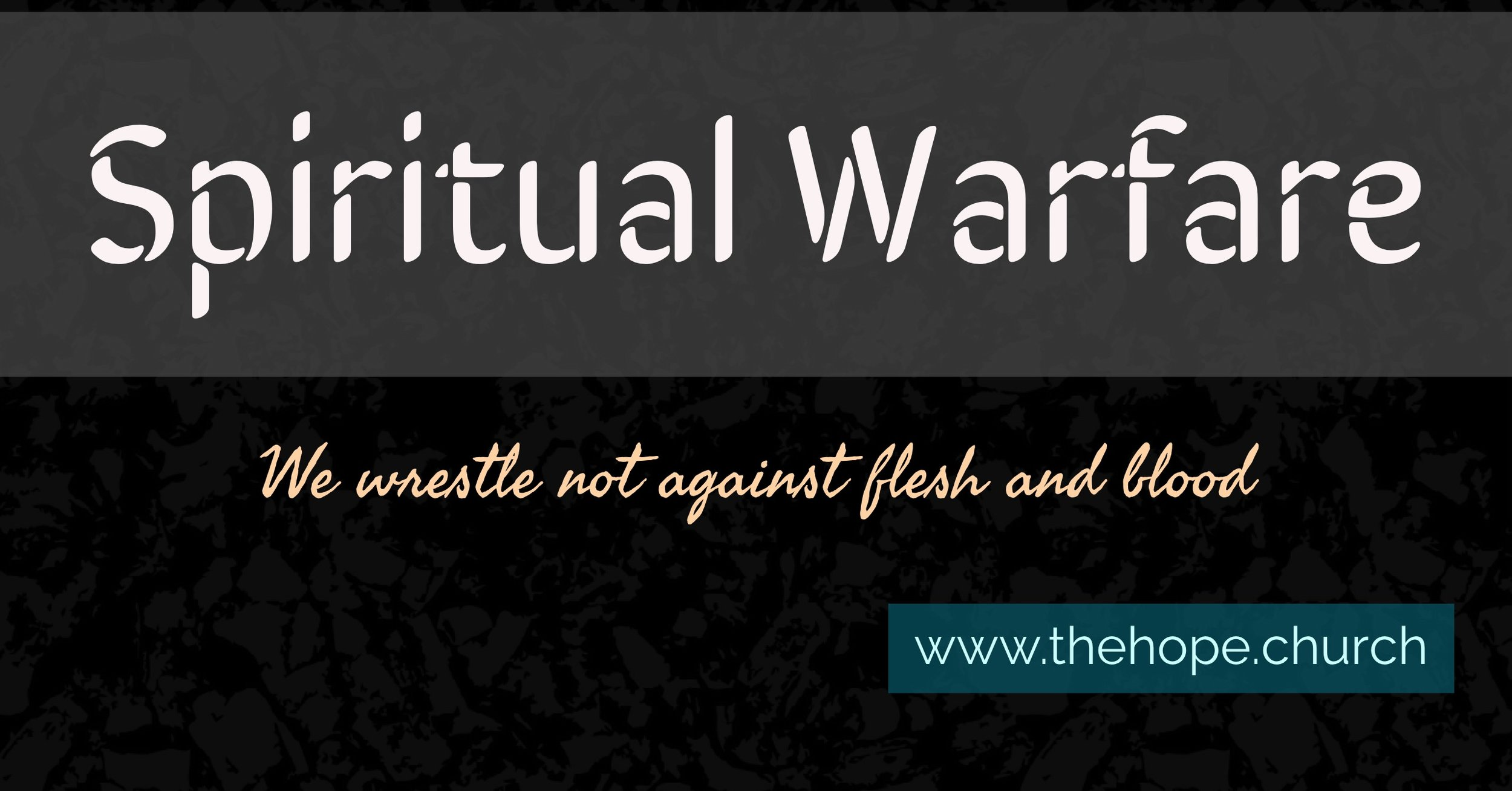 What is the spiritual realm, how do we interact with it and what is the relevance of the Armour of God in the 21st century.