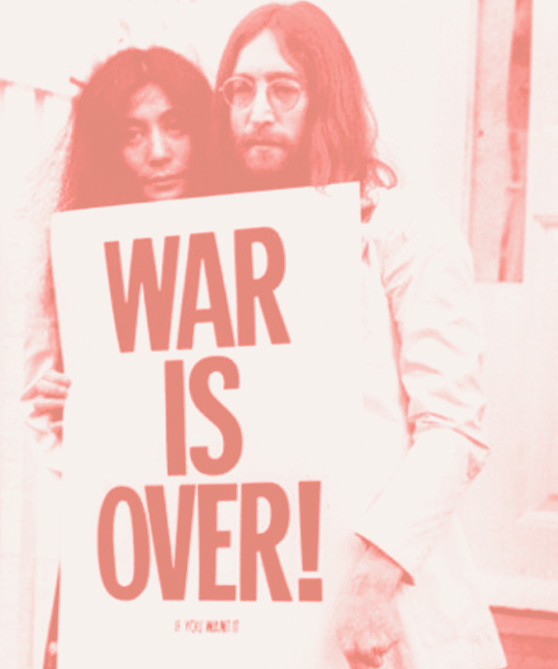 John and Yoko on Cheeky Design