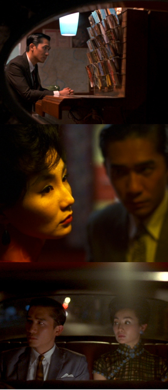 Study of Composition from In the Mood for Love on Cheeky Design