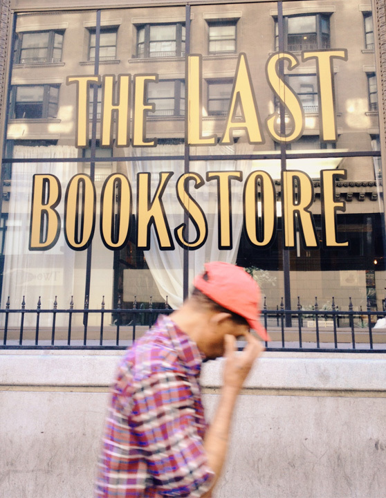 The Last Bookstore on Cheeky Design