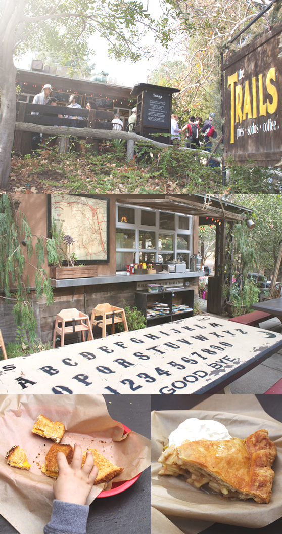 Trails Cafe on Cheeky Design