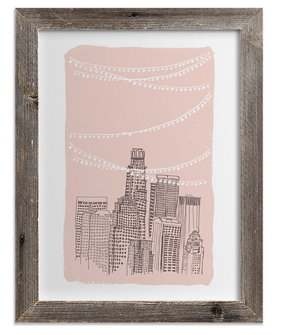 Roof-Party-Art-Print-Cheeky-Design
