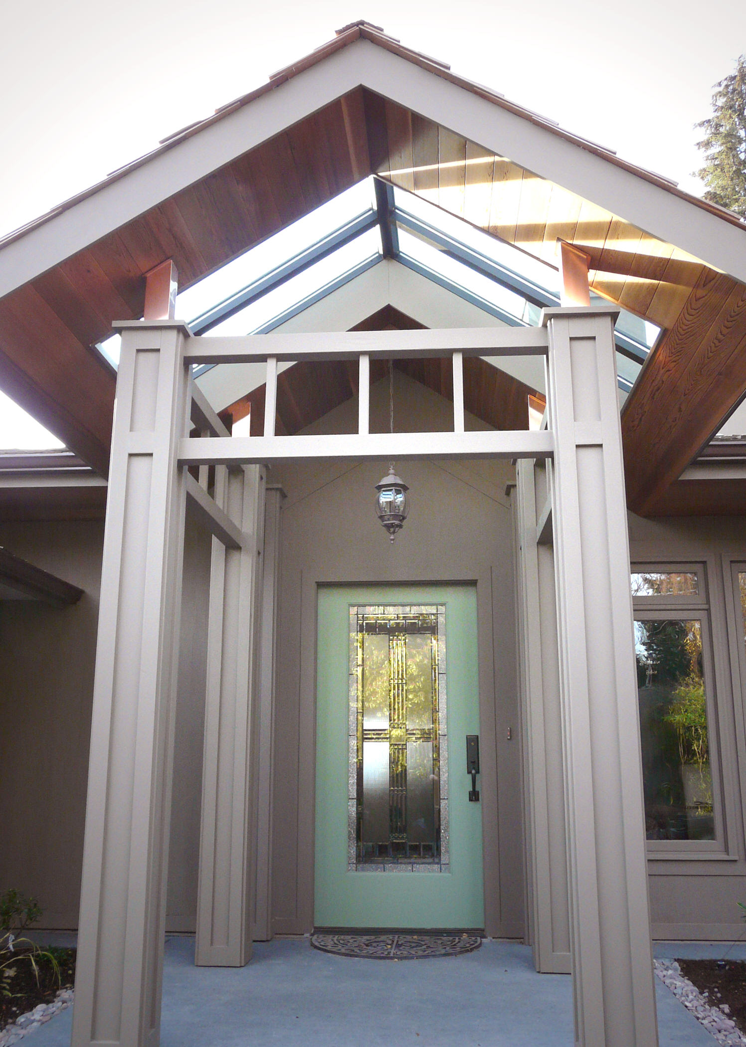 Richmond Beach Front Entry Addition
