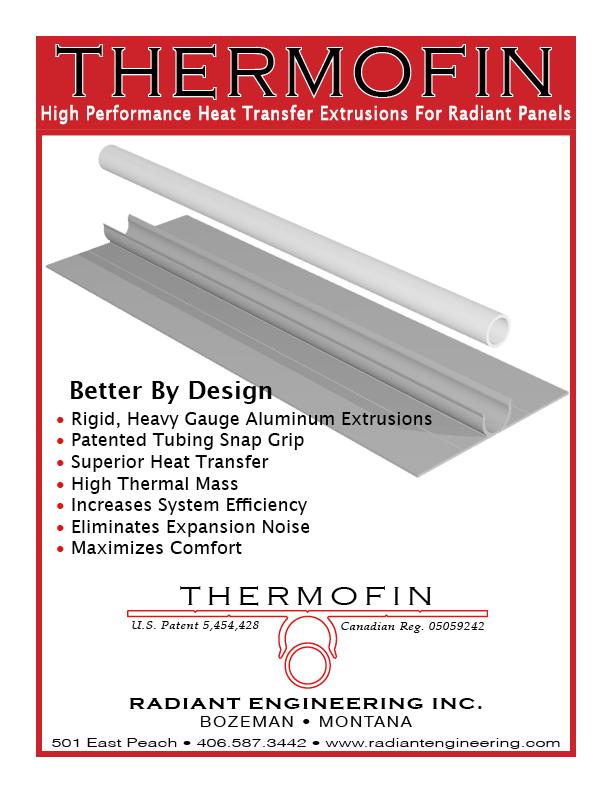 ThermoFin Radiant Heat Transfer Plates — Radiant Design