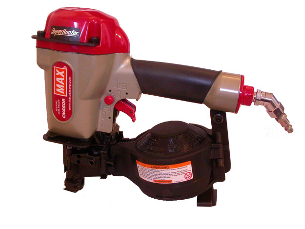 SuperMAX roofing nailer for fastening ThermoFin