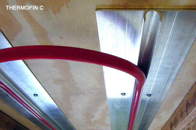 TheroFin C radiant heated floors