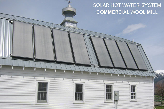 commercial solar water heating