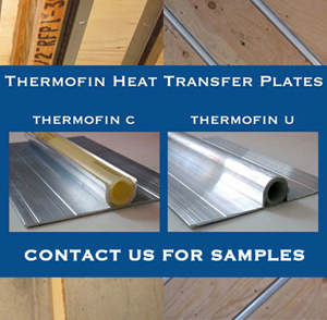 We provide free small samples of ThermoFin C, ThermoFin U, and ThinFin C (not pictured), a few inches long. Contact us with this form and state your request.
