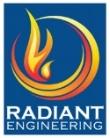 Logo of Radiant Engineering Inc