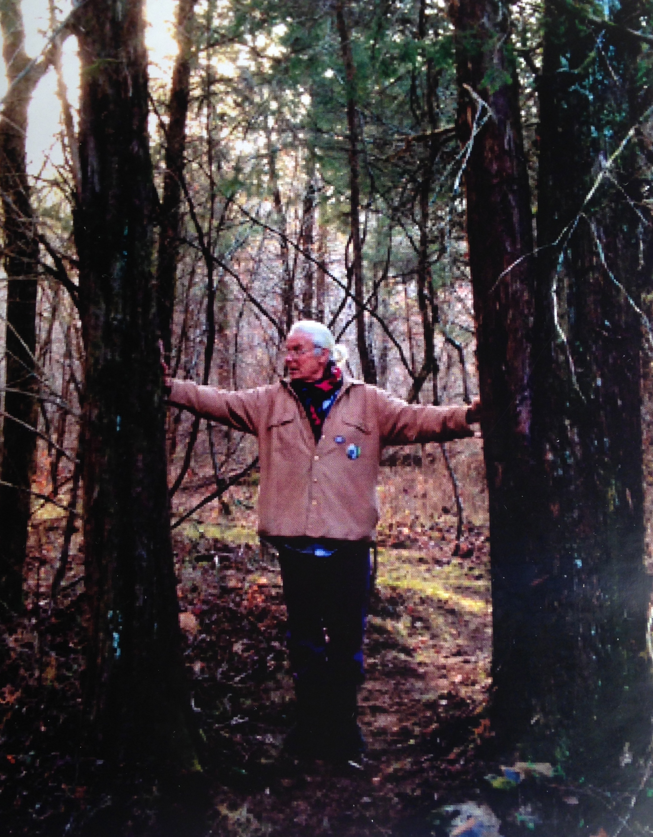 I love this picture of Paulus taken by his friend, the eloquent poet Mary Oliver...