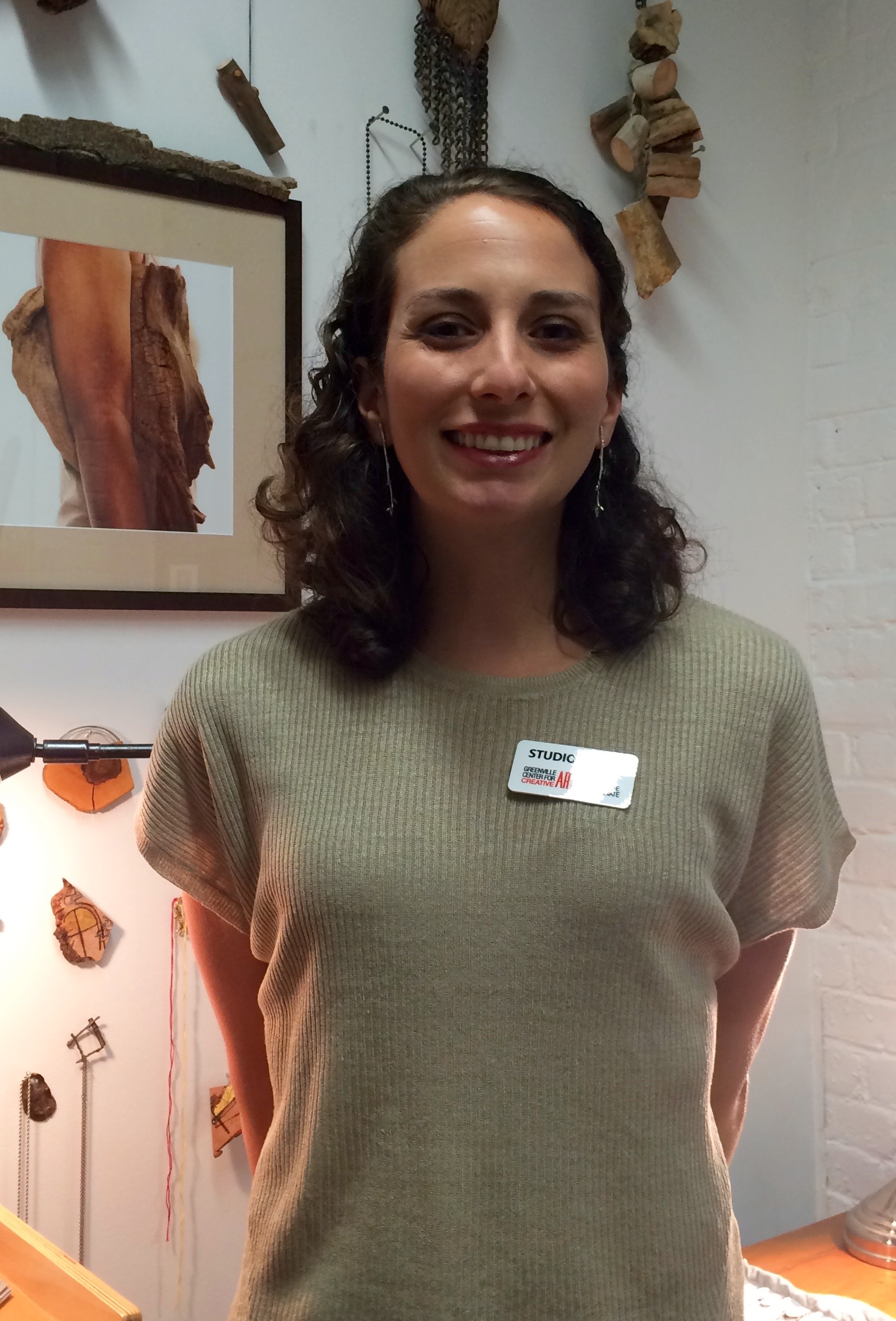 Kate Furman is back in Greenville! Her jewelry is amazing! You must drop by to visit her studio at Brandon Mill. It is an artistic wonder and an inspiration...  .