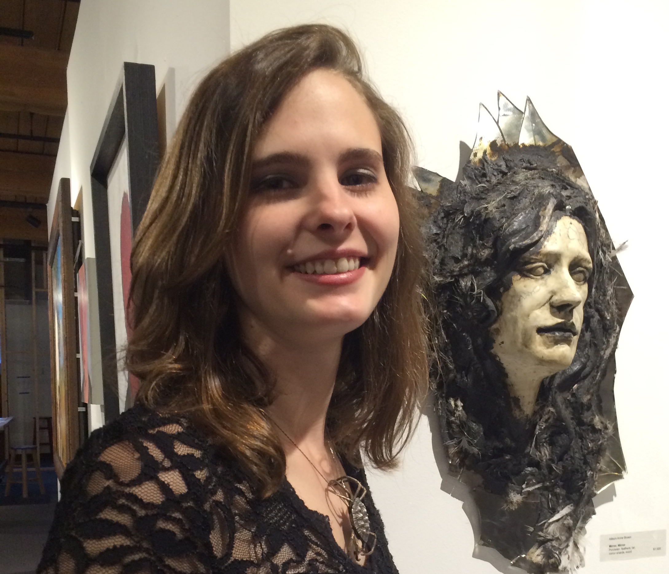 Congratulations on having work in MAKING FACES Allison Brown!