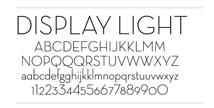 Neutraface Display Light  specimen.