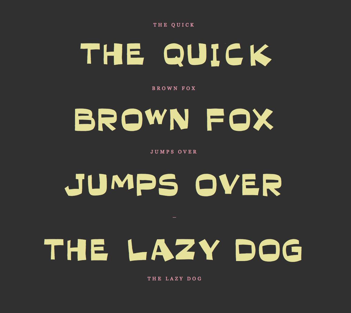 Step 5: Test font