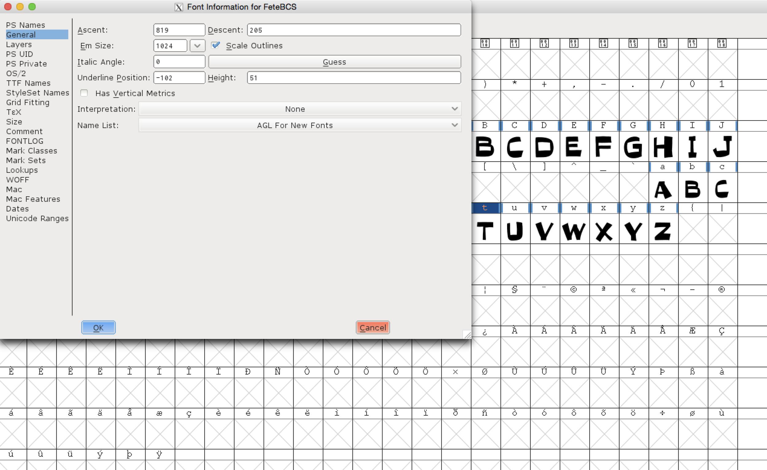 Step 4a: Font Setup