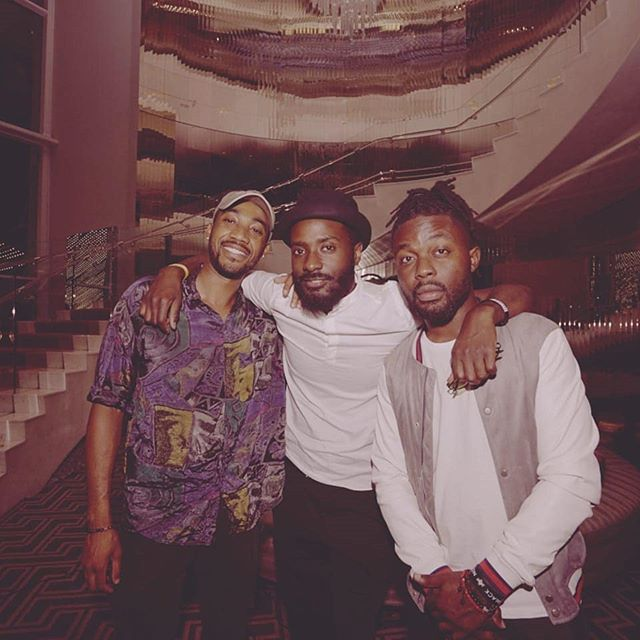 Come hang with us at @whollywoodhotel tonight from 9-midnight for our new residency #TheRemedy.  Vibes brought to you by these guys. ✊🏾✊🏾✊🏾 Sounds brought to you by @somebadi. . 📸 --- @mikewallz . #goodtimes #hollywood #thewhotel #residency #letsgetdrinks #tribe #losangeles #nightlife #litty #livemusic #djs