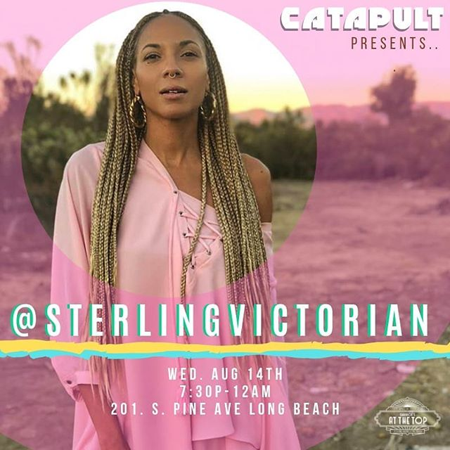 Tomorrow the unicorn light beam goddess @sterlingvictorian is taking over @catapultcc and we are PUMPED! We've got the amazing @m2ray_ on the turntables and an art installation from fashion icon @bymelianj. . We're playing too and there might be a special appearance by the incomparable @refi_sings so don't miss this one! . Free show! 21+! Happy Hour! #sterlingvictorian #m2ray #melianj #BLCKNOISE #CATAPULT #atthetop #dtlb #nightlife #flyers