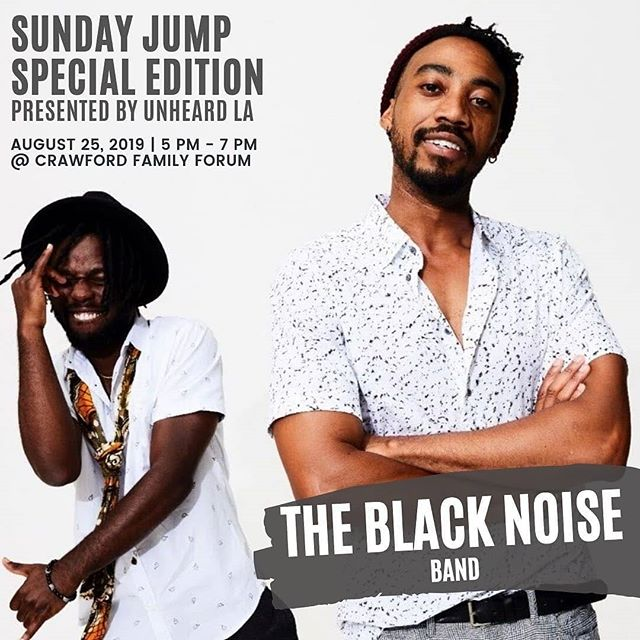 Next week on the 25th we're rocking with our @thesundayjump family for a really special event with @kpcc. Get your tix via the link in our bio! . #sundayjump #showcase #poetry #music #kpcc #artsaveslives