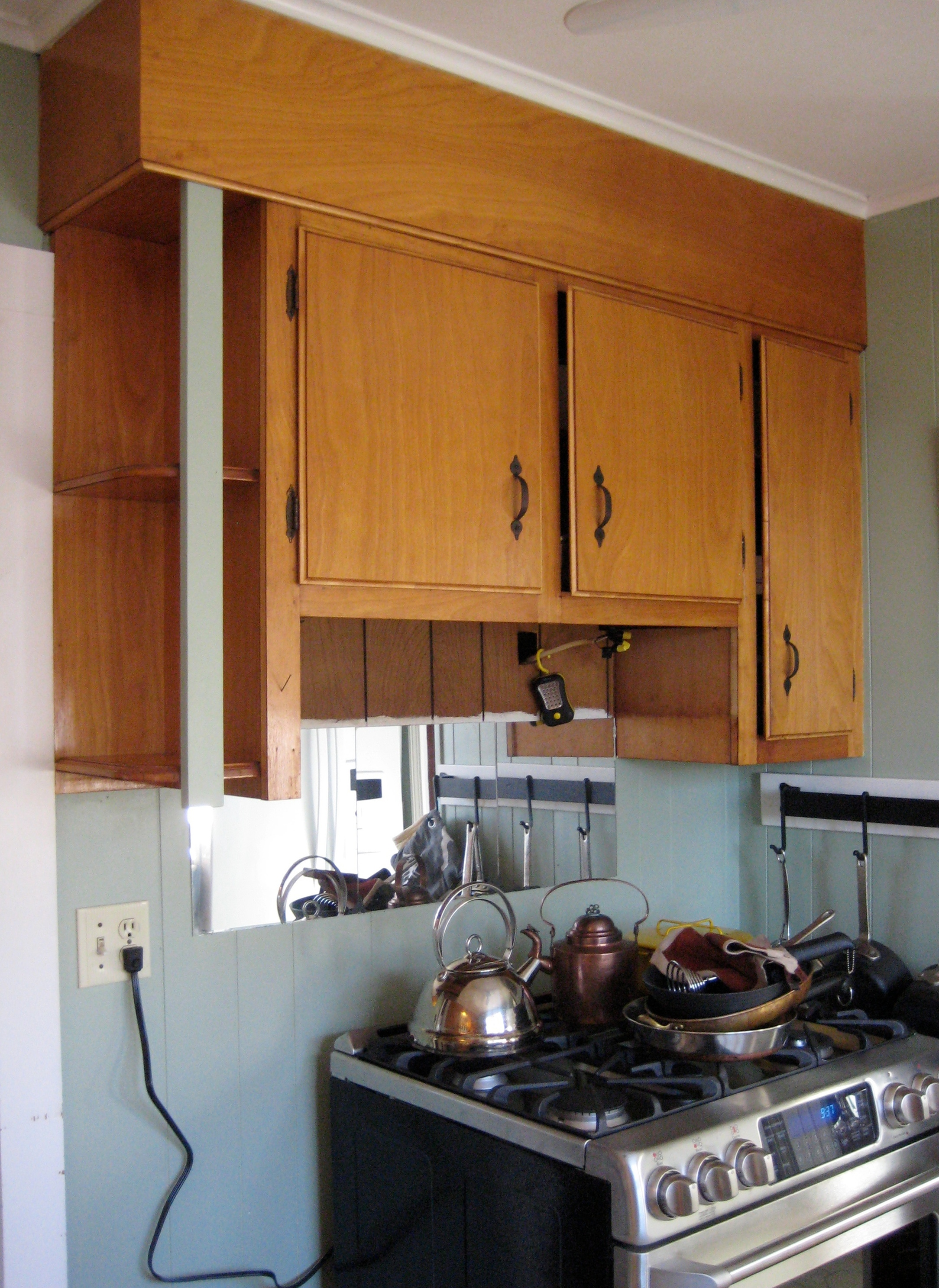 Custom built to fit a small space