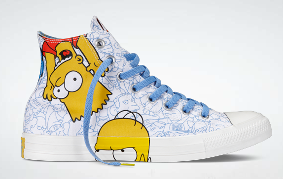 Simpsons  (!!!) Converse