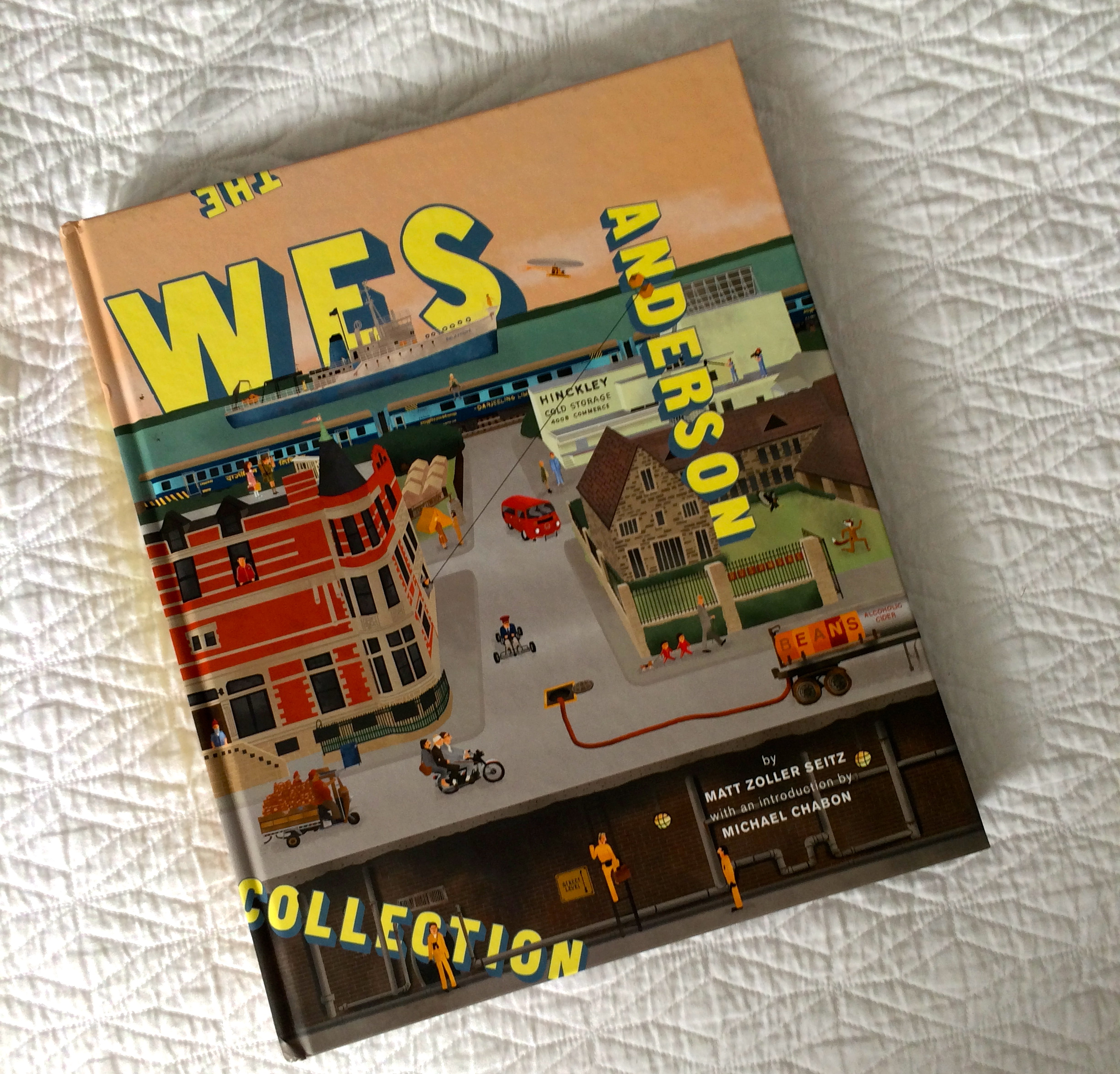 The Wes Anderson Collection cover on ourcitylights