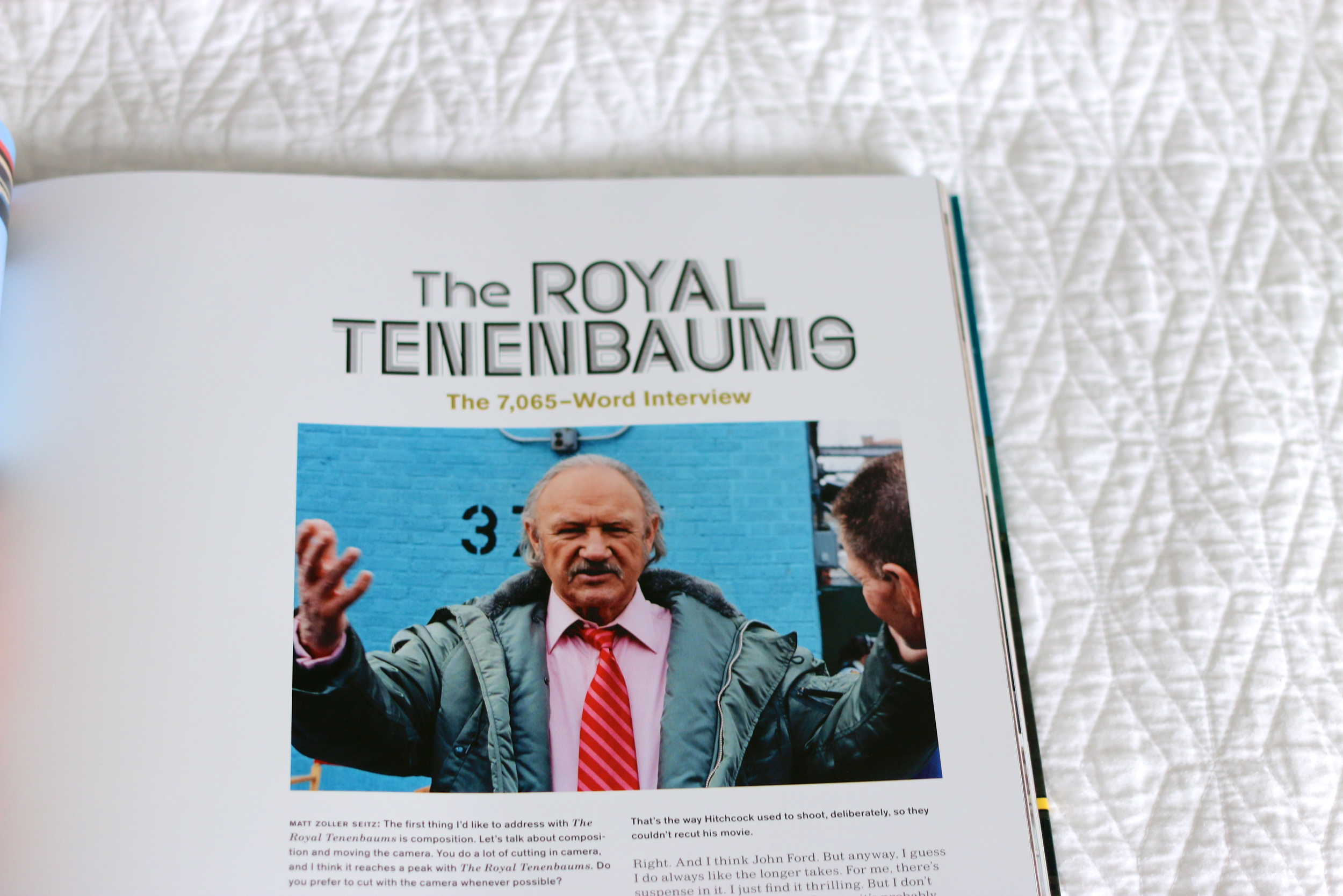 The Wes Anderson Collection The Royal Tenenbaums essay on ourcitylights