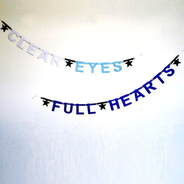 Clear Eyes, Full Hearts banner by  Banter Banner