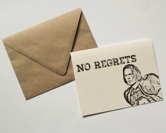 No Regrets card by  EtherealDesign