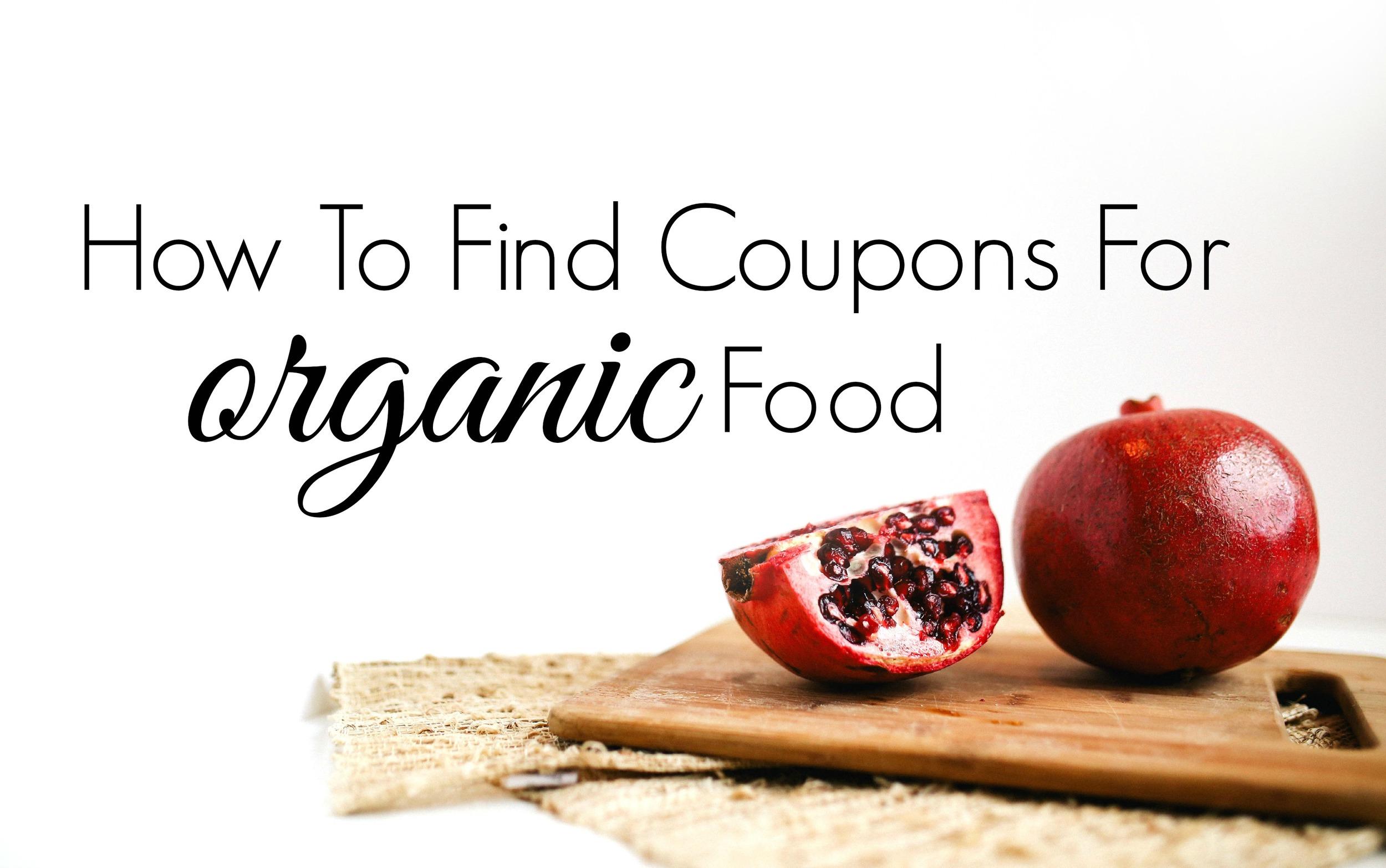 (even fresh produce like pomegranates can be coupon'ed!)