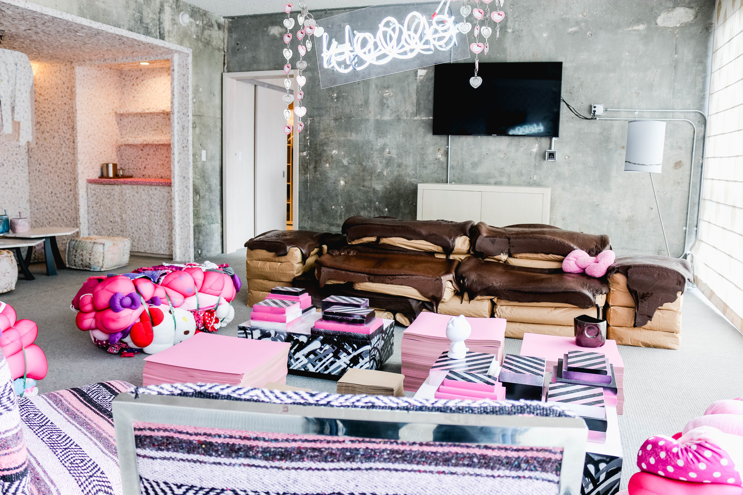 Hello Kitty at The LINE Hotel  2014 on ourcitylights-3.jpg
