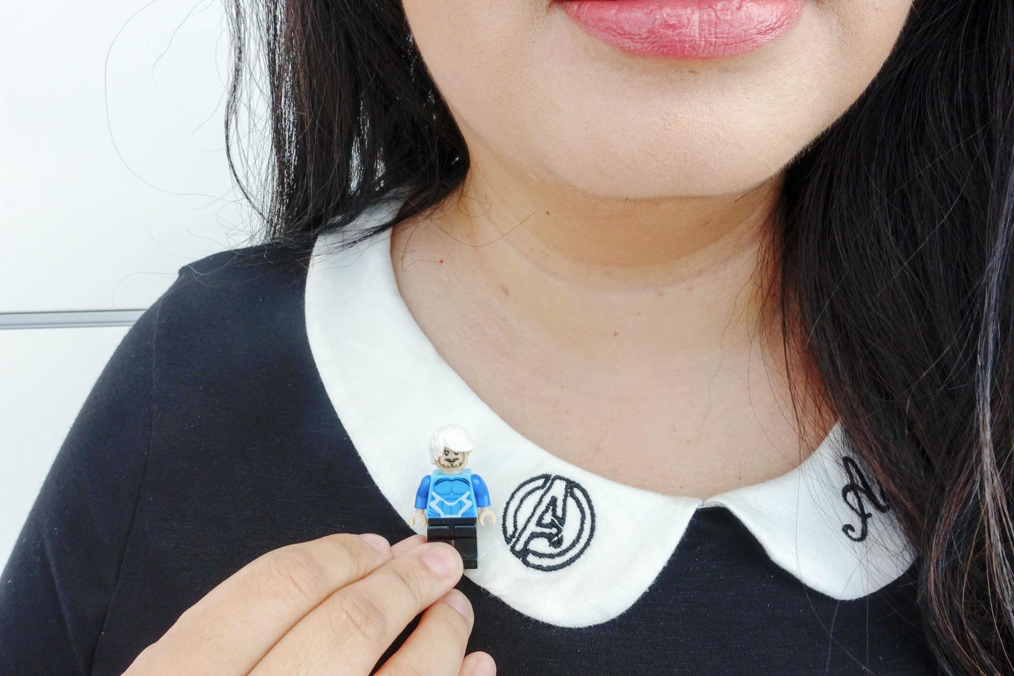 Bonus photo- with a Lego sized Pietro Maximoff (aka Quicksilver aka my fictional boyfriend)