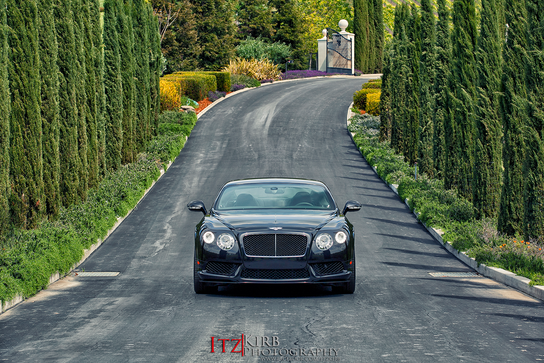 The launch car further down the driveway.Photo by ITZKirb Photography
