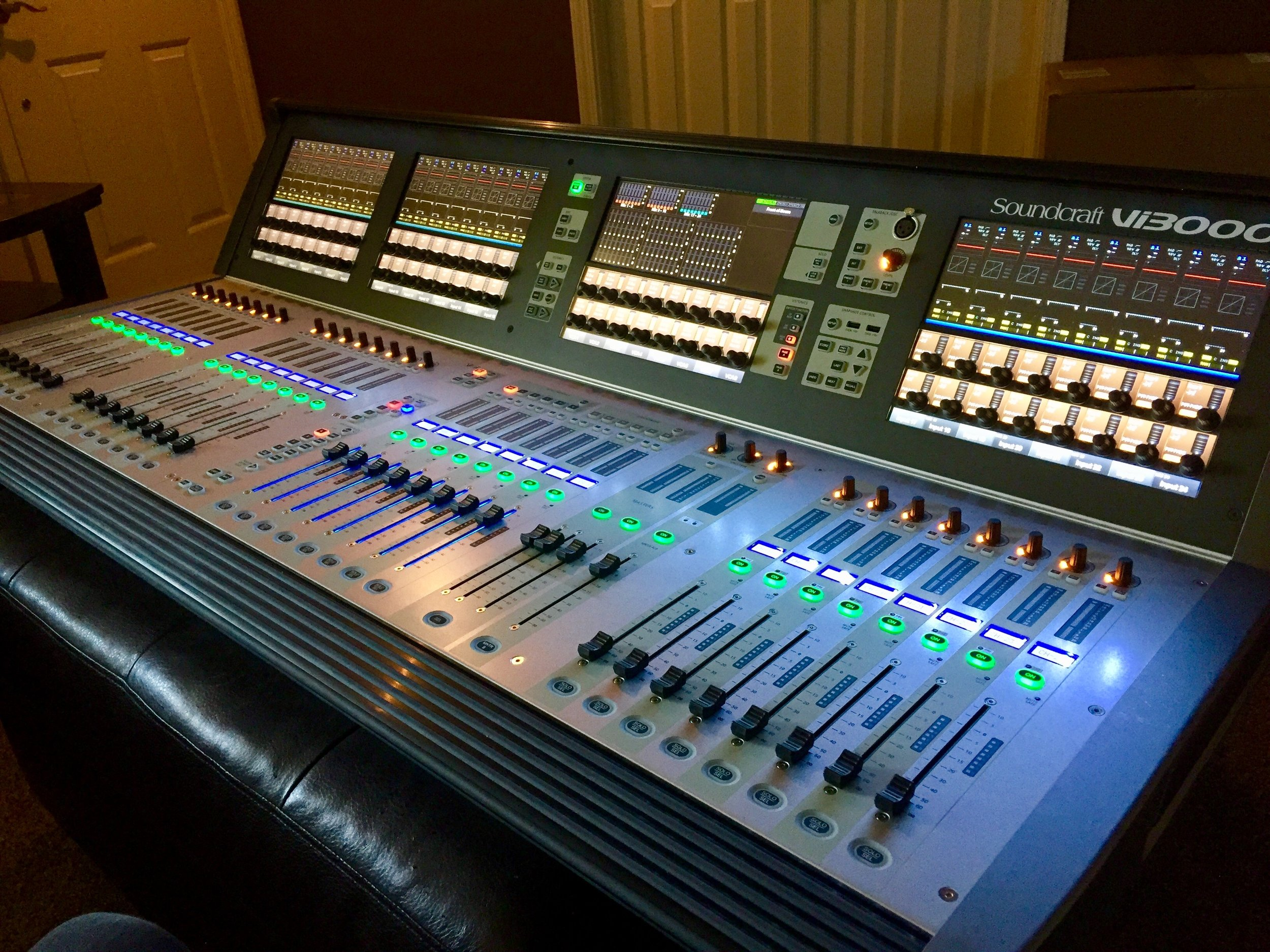 A great addition to our current inventory of sound. Looking forward to using this 96 channel touchscreen monster.