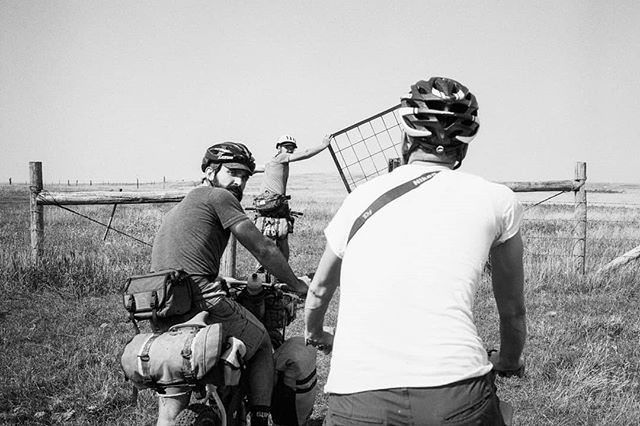 Three days on the Maah Daah Hey Trail (we faught the heat and the heat won). You can read Mark's full report from this trip in the latest issue of the @bikepackingcom Journal. #35mm #leicamp #bikepacking