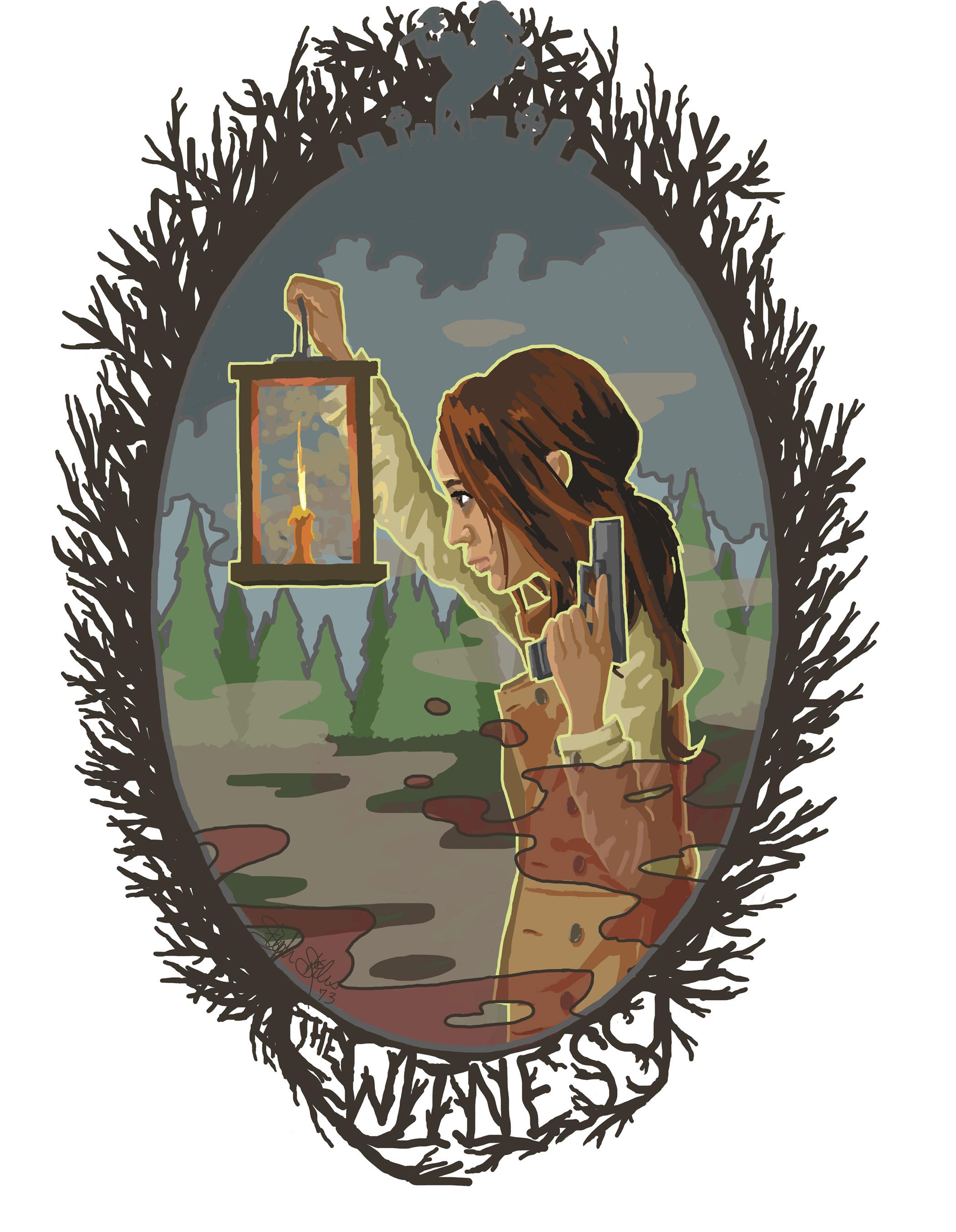The Witness Digital Illustration