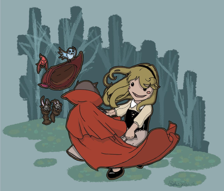 Once Upon A Dream Digital Illustration
