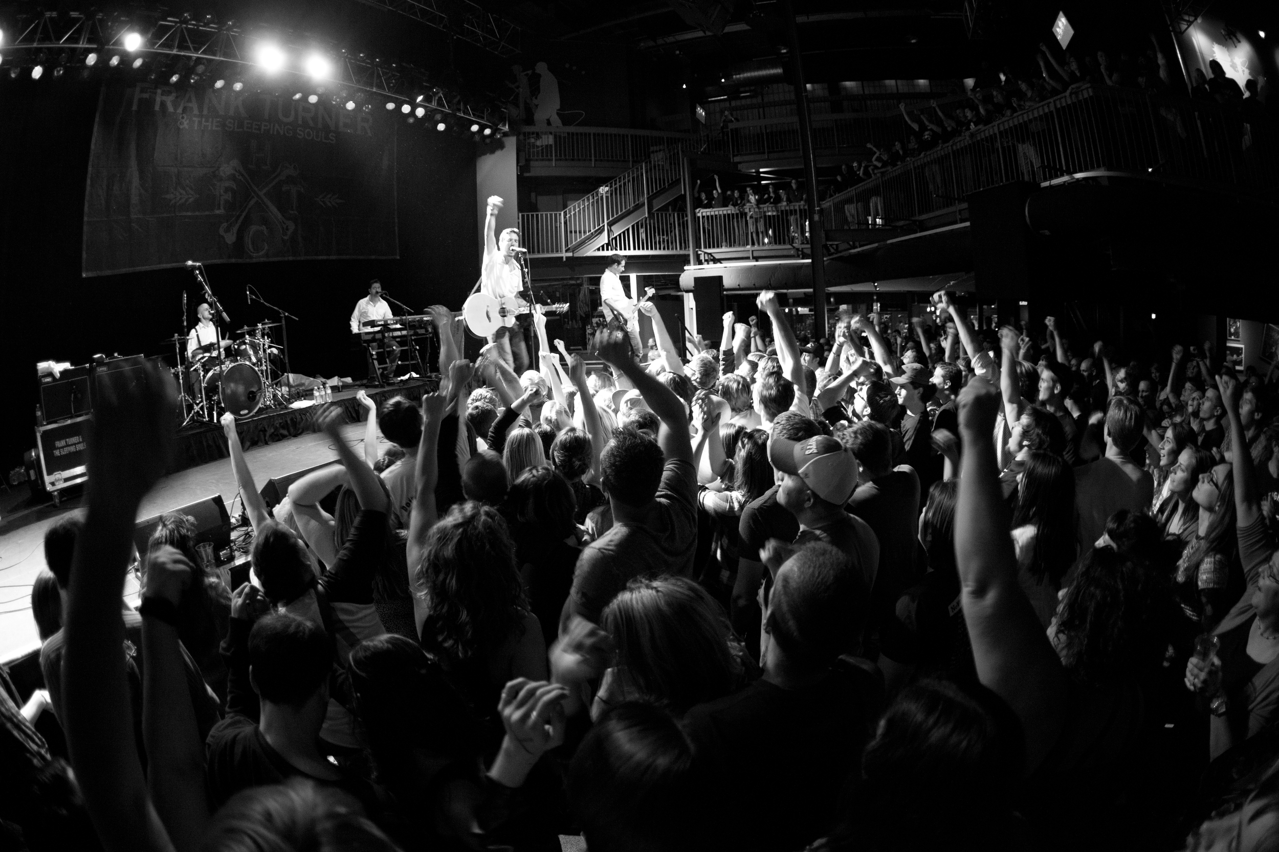 If I had a nickel for every time someone said I was the one that got them into  Frank Turner ...maybe I'd have health insurance? Photo by  Digital Ephemera Photography . Taken at Ram's Head Live in Baltimore, MD on September 28, 2012.