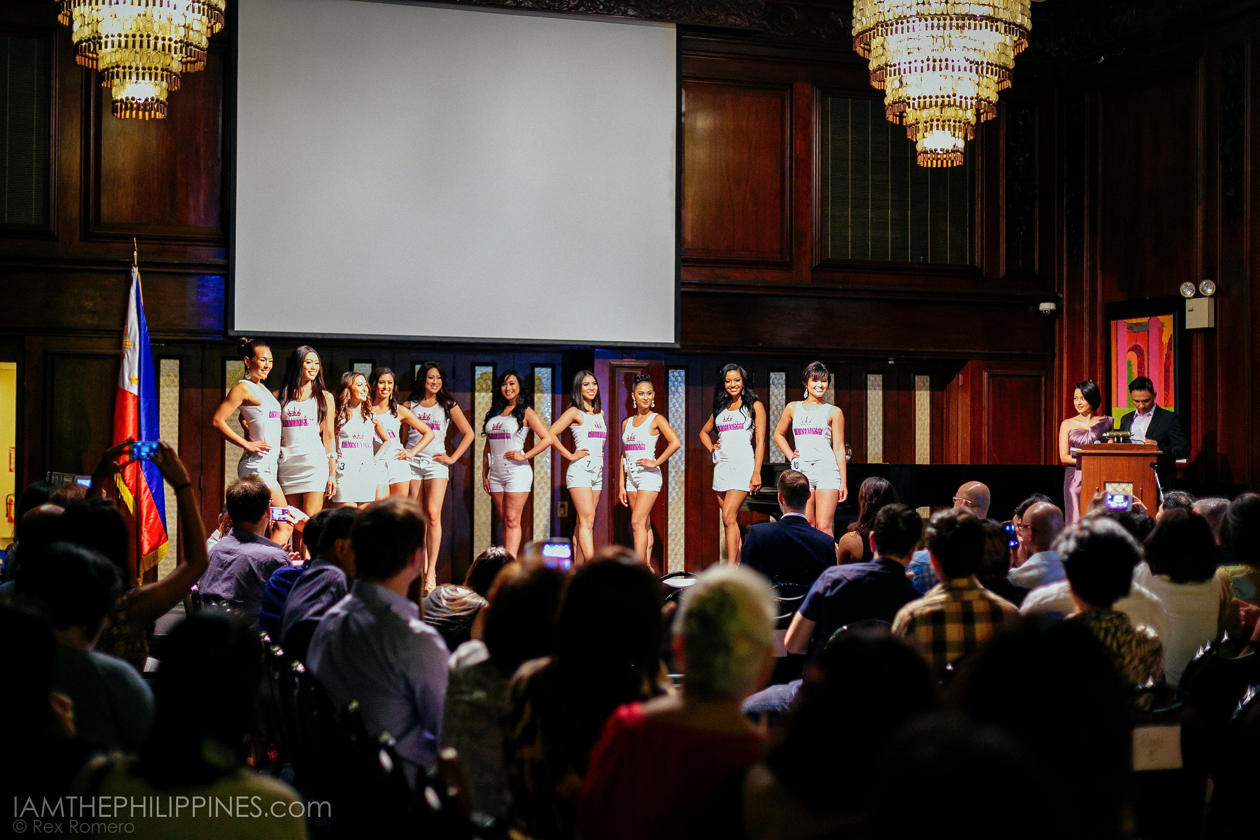 Miss Philippines Quest at the PH Embassy