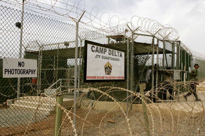Camp Delta at Guantanamo Naval Base (AFP Photo/Mark Wilson)
