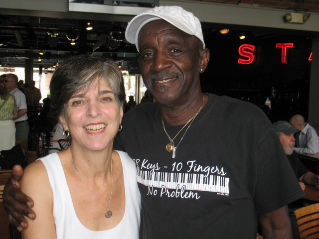 With Marcia Ball
