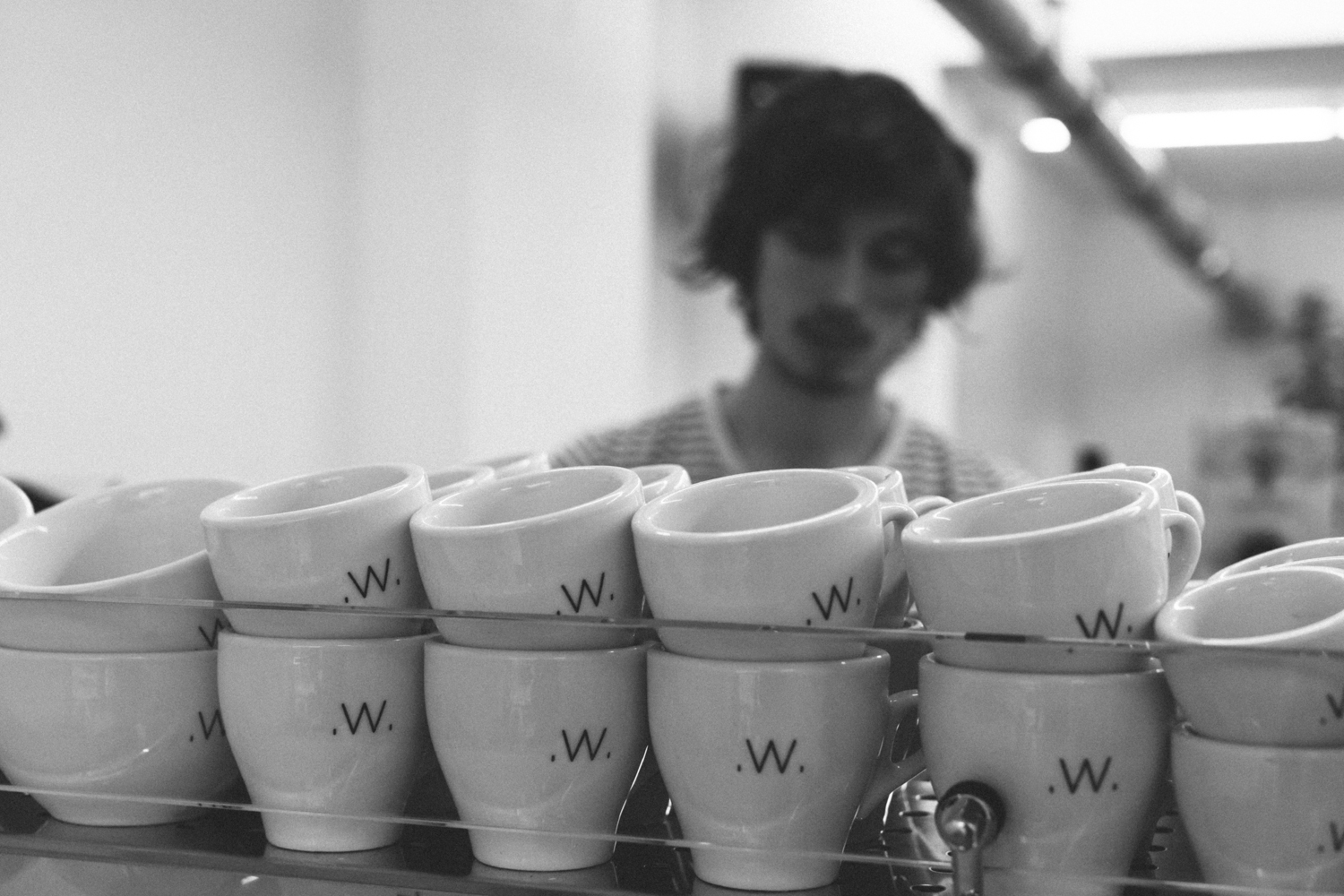 White Label Coffee Amsterdam by on a hazy morning