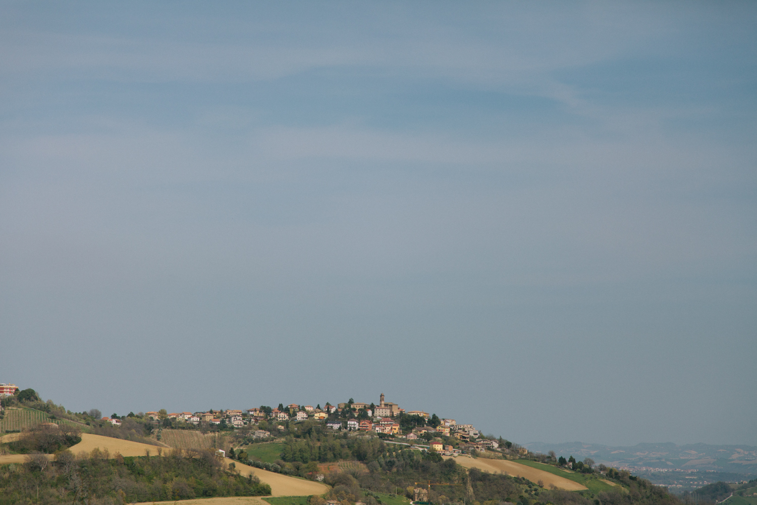 Exploring Marche 2 Italy travel photography by on a hazy morning