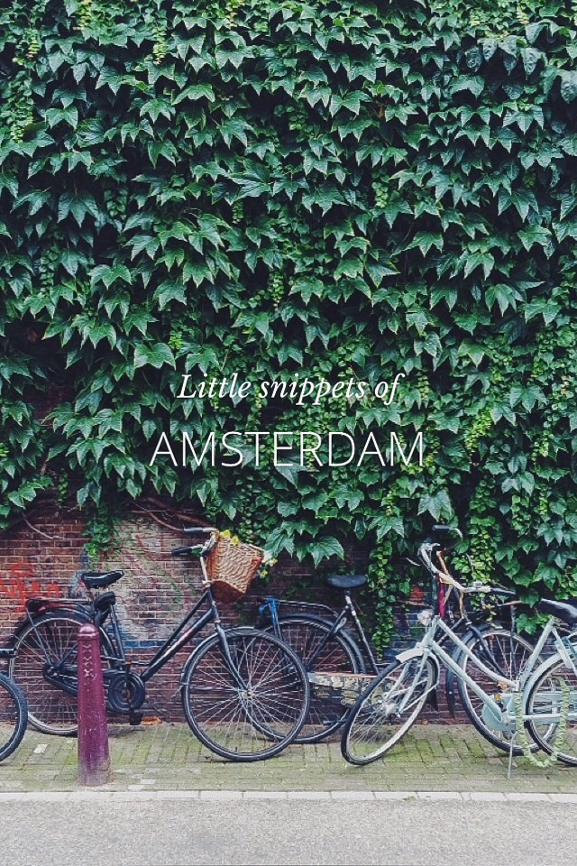 Steller - Little snippets of Amsterdam by on a hazy morning phot