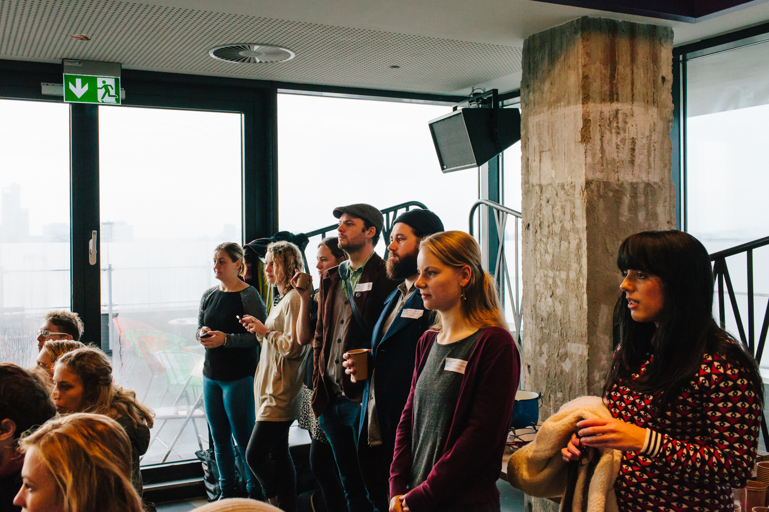 CreativeMornings Amsterdam Crossover - photography by on a hazy