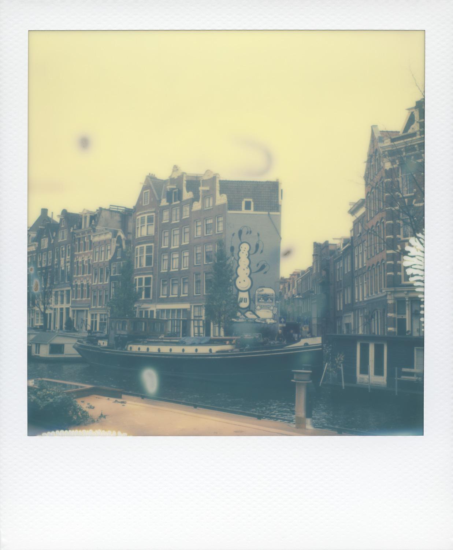 Atlanta and Amsterdam Art - by On a hazy morning Amsterdam