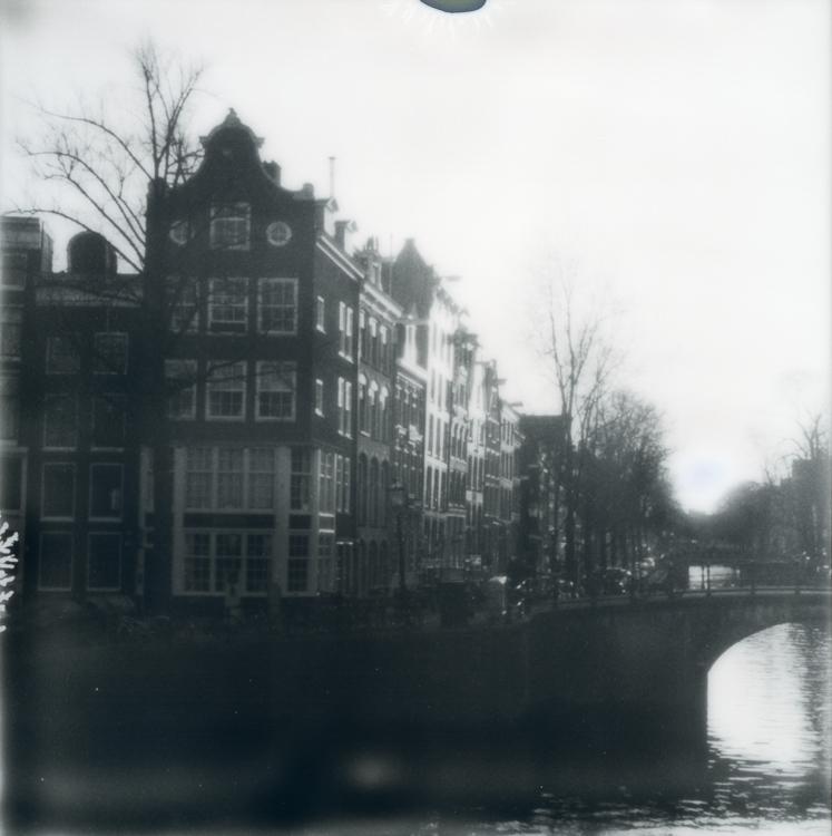 Polaroids on a hazy morning Amsterdam