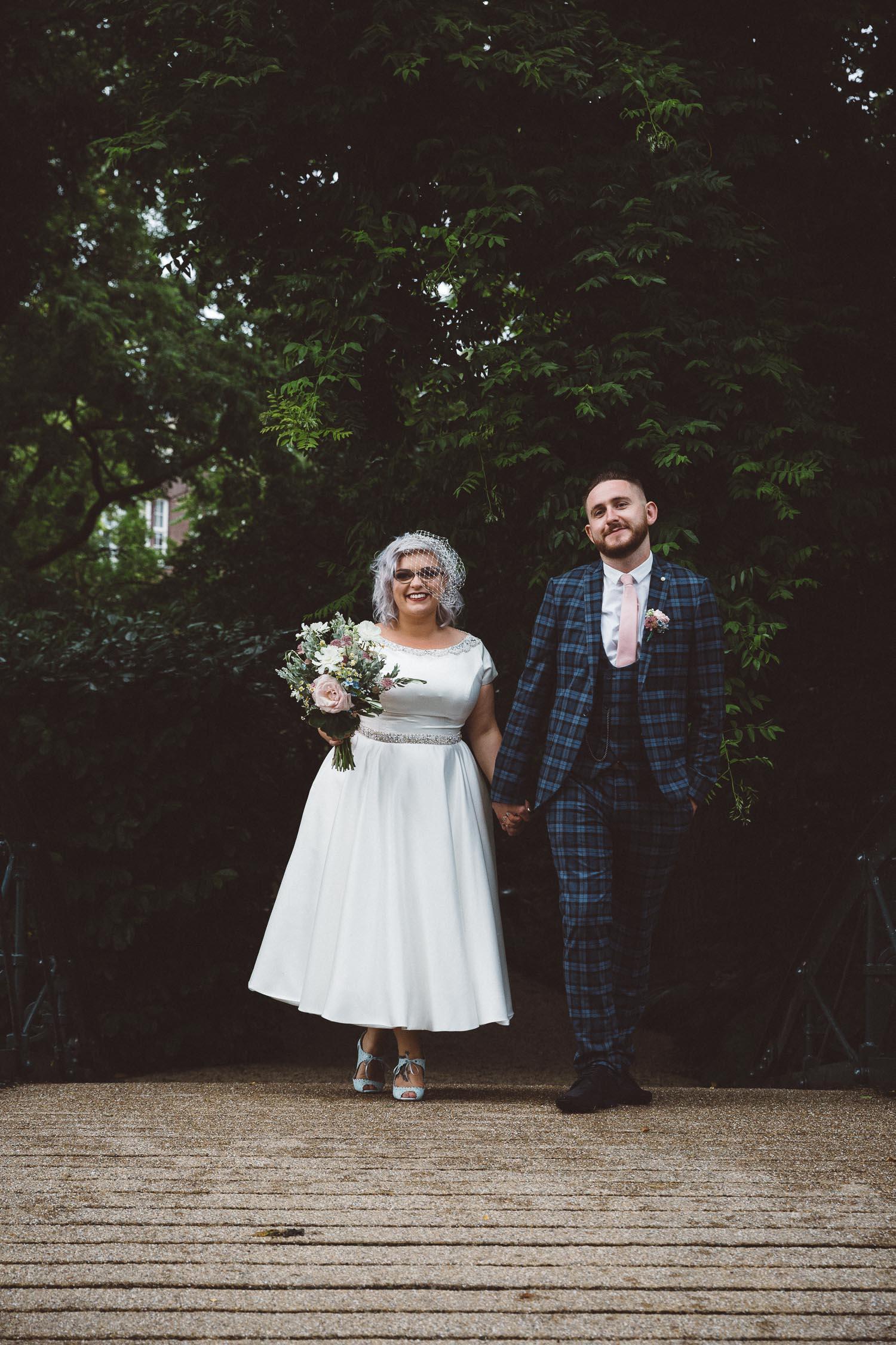 Wedding Bethan and Mike - Hortus Botanicus Amsterdam