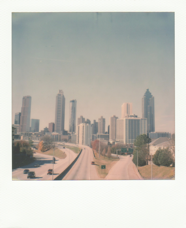 Atlanta and Amsterdam City Scape - by Andrea Jenkins - Hula Seve