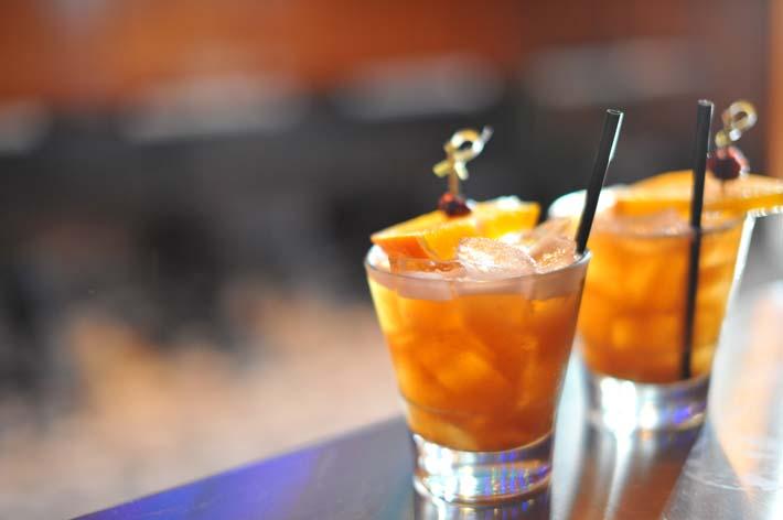 Tamarind whiskey sour